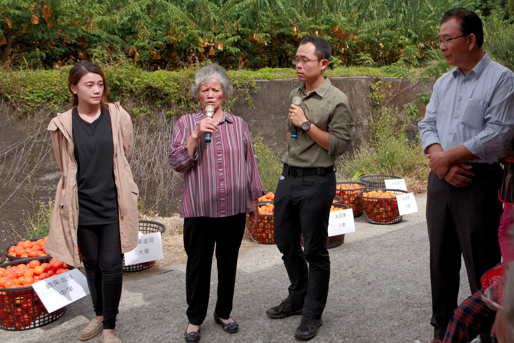 高瑞雲農友分享栽培心得與正確疏果的好處