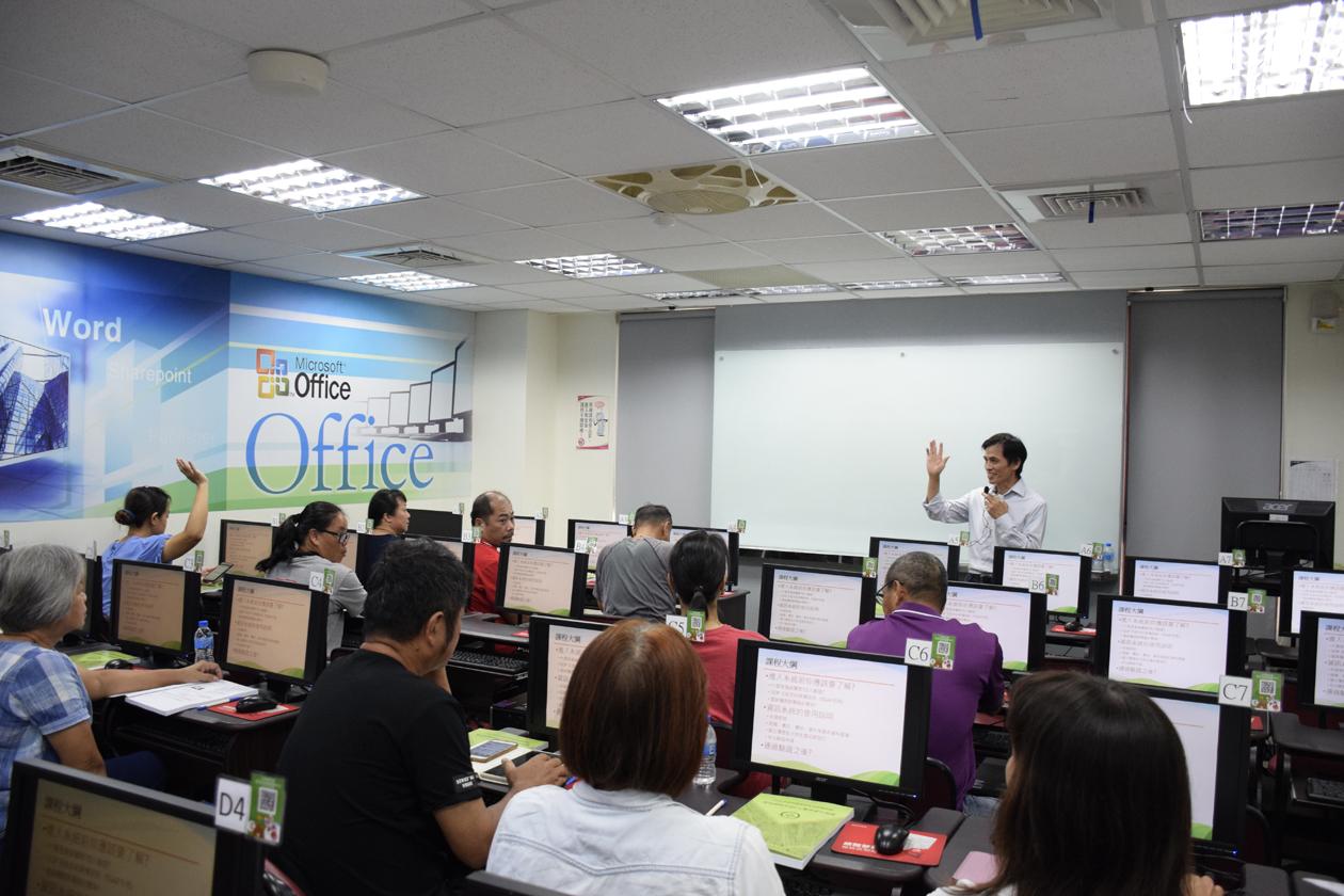 加元科技有限公司吳總經理宏基教授產銷履歷資訊系統操作